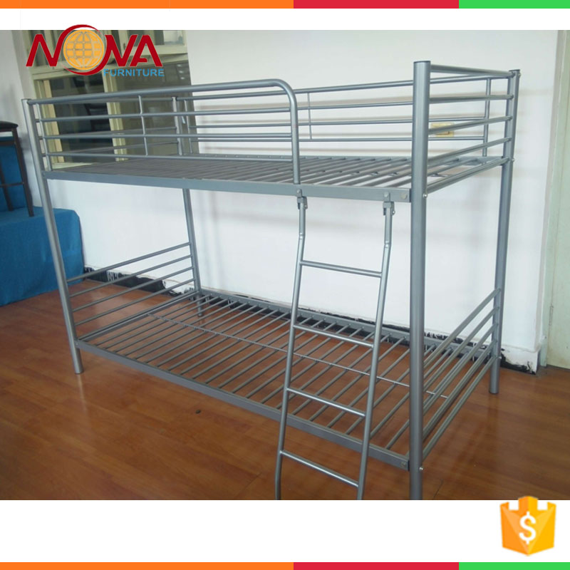 Factory direct modern design general used cheap metal bunk beds