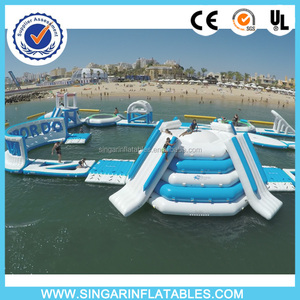 Custom inflatable water park,giant inflatable water slide,inflatable water obstacle