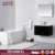 2018 Hot Sale Double bowl lacquer finish bathroom set furniture