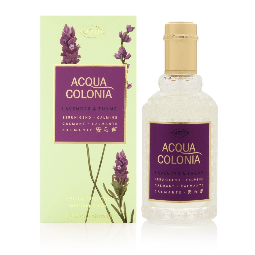 4711 Acqua Colonia Lavendar and Thyme Eau de Cologne Spray for Women, 1.7 Ounce
