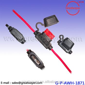 PVC 45P Molding Fuse Wire Harness JST_350x350 pvc 45p molding fuse wire harness jst 187 female connector 5 18Awg Wire at suagrazia.org