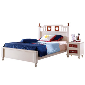 American Countryside Style Single Bed Children Bed