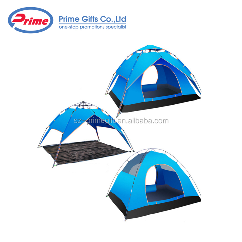 High Quality Polyester Customized Double Wall Waterpoof Camping Tent