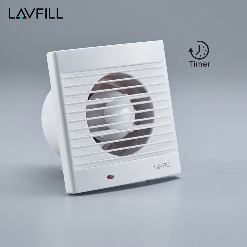 Wall Mounted Shutter Exhaust Fan with Timer Ducted Kitchen Fan