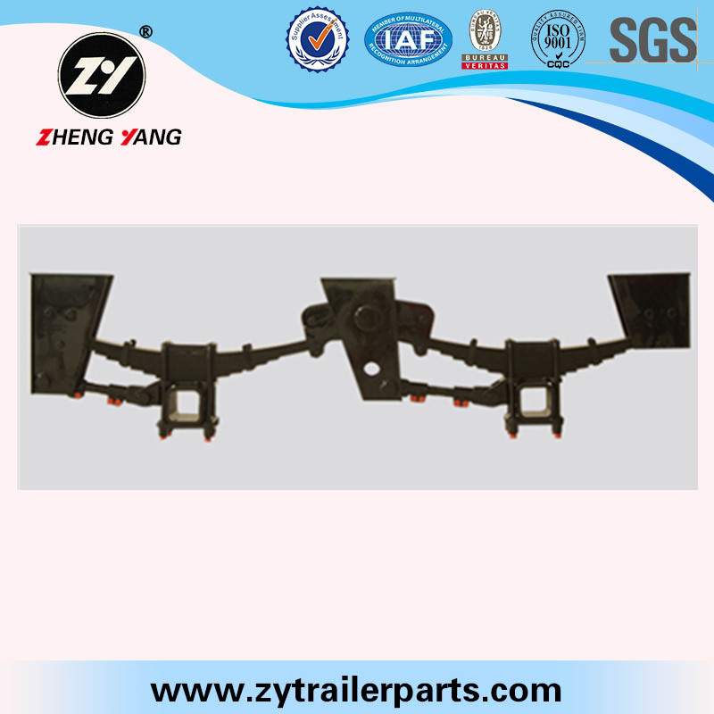 Trailer suspension fixed torque arm fixed draw bar in suspension parts trailer axle cantilever suspension