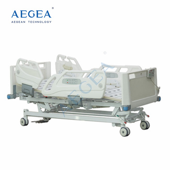 AG-BR005 four ABS handrails intensive room seven functions adjustable electric healthcare bed