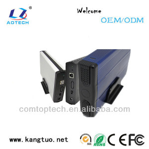3.5 inch hdd case usb2.0 ide/sata hdd enclosure