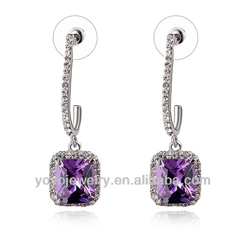 New model jewelry making supplier new quartz earring