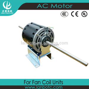 Different Models of 300W Static Press Fan Coil Motor Three Speed Single Phase