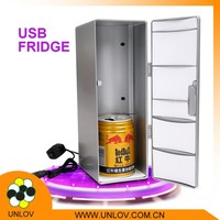 Factory seller mini USB fridge , desktop USB cooler&warmer for drink with high quality