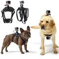 Action camera Fetch Dog Harness Dogs Chest Hound Dog Fetch Harness Chest Strap Belt Mount for
