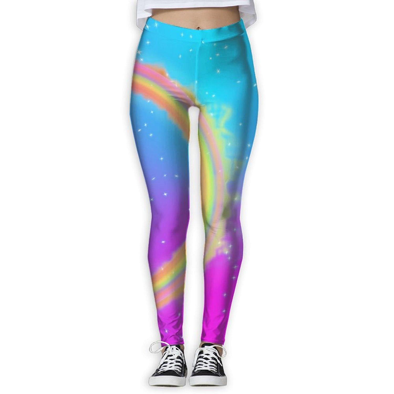 6ad2cafbf1ac5e Get Quotations · Cancer Rainbow Love Print Compression Pants/Yoga Pants  Baselayer Pants Women Female Thermal