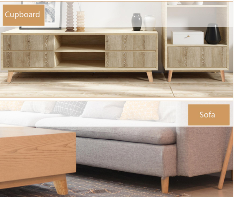 """Natural wood color 4"""" Furniture feet wooden furniture sofa legs for sale"""