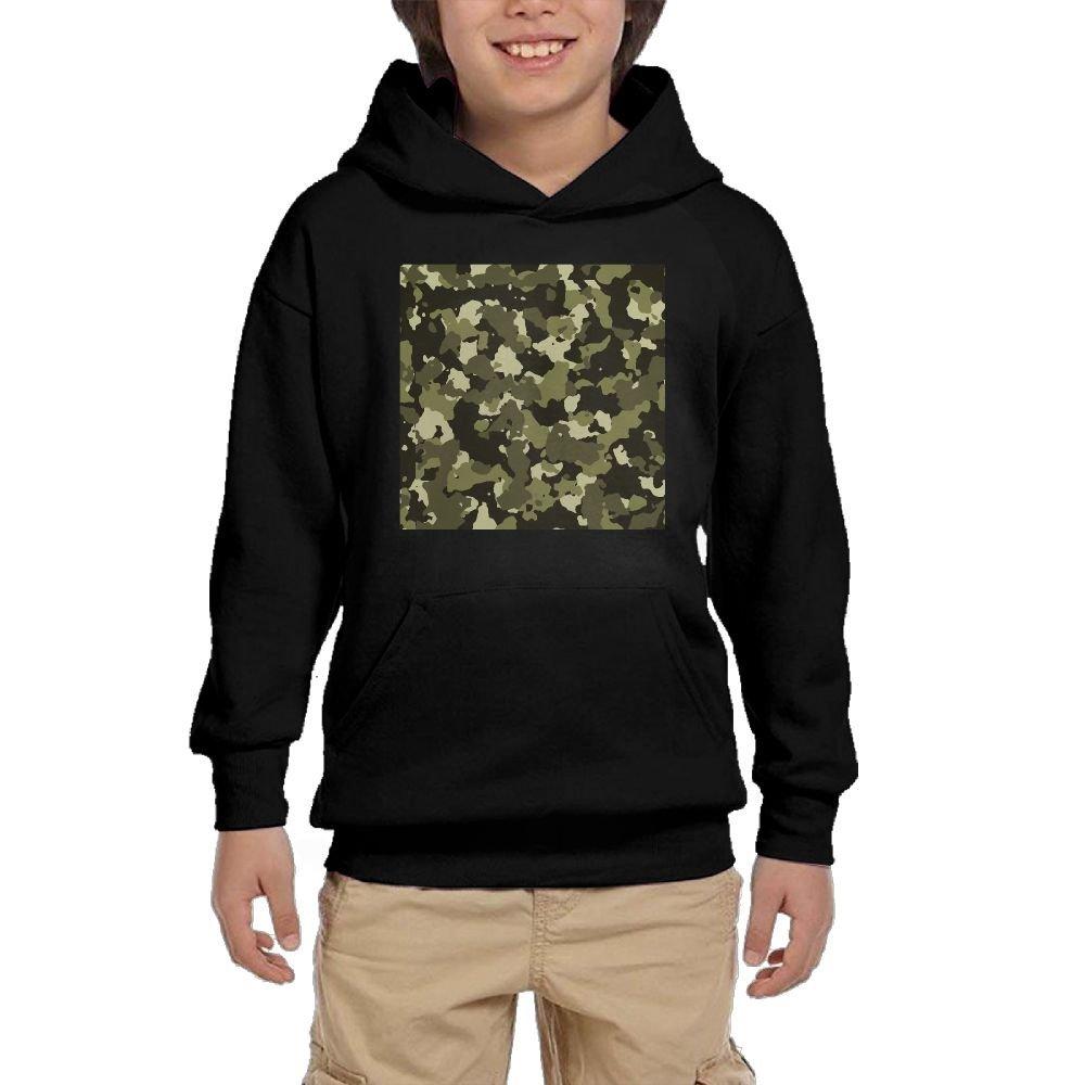Jaycargogo Mens Casual Camouflage Hoodie Warm Fleece Full Zipper Jacket Outwear