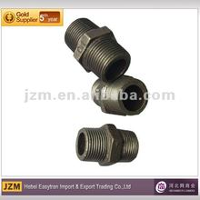 Threaded galvanised quick connect water spigot fitting ,nipple