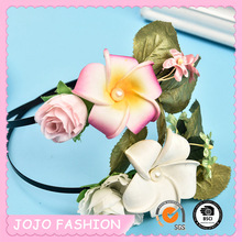 Wholesale Flower Shape Hair Accessories Women Types Of Hair Bands
