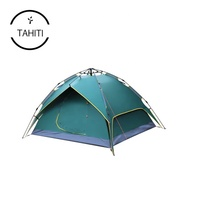3 To 4 Persons Customized Double Layers Automatic Windproof Instant Outdoor Travel Luxury Family Hiking Camping Tent