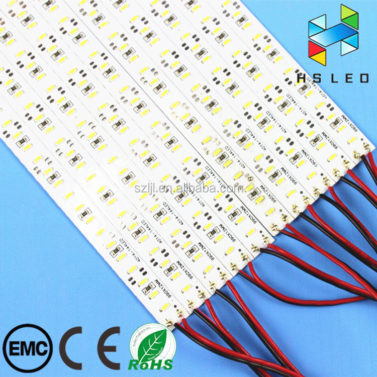 LED Backlight Strip Bar smd4014 Hard Rigid Bar LED Light Aluminum DC 12V