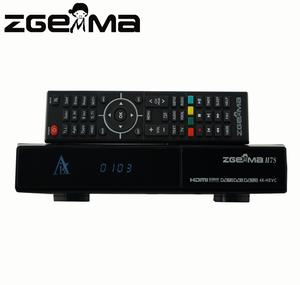 Zgemma H7S 4K satellite receiver combo 2*DVB-S2X+ DVB-T2/C Linux Enigma 2  IPTV BOX