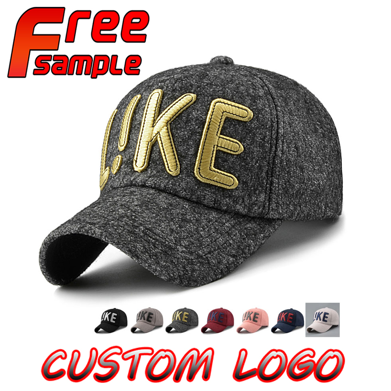 Wholesales Customize 3D Embroidery Design 6 Panel Baseball Caps and Hats Free Sample