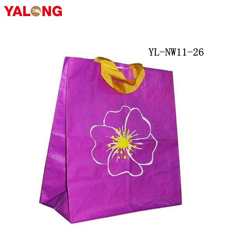 Factory wholesale top quality printing non woven shopping tote bag