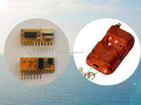 RXC6 band decoder superheterodyne learning code remote control 315 433 wireless receiver module