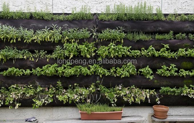 Verticale Tuin Zakken : Verticale tuin outdoor groene muur zak buiten muur planters buy