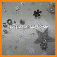 Silver Christmas Table Decoration