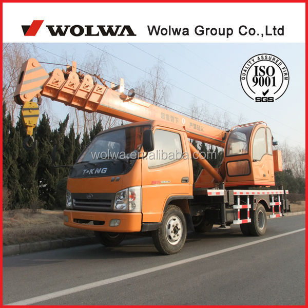 Hot sale! 6ton truck crane with Truck chassis T-king