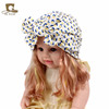 baby vintage big bow Headbands fruit pattern Baby Hat Girl Soft Cute Turban kids beanie Knotted hair bandTJM-237K
