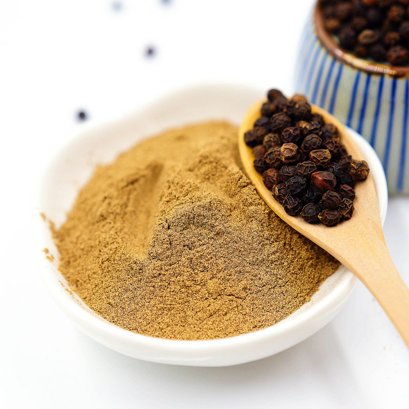 High Quality Condiments Factory Supply Price Spices Black Pepper Powder