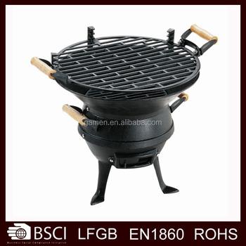 Portable Cast Iron Bbq Grills  BQ012