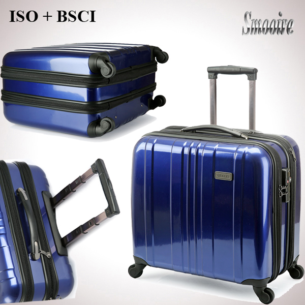 Business waterproof hardware men's plastic PC flight case