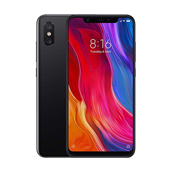 Xiaomi Mi 8 Dual-SIM 64GB/6GB RAM Factory Unlocked 4G Smartphone (Black) - International Version