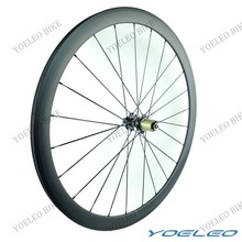 Best 25MM Wide Cyclocross Wheels For Sale! Yoeleo 700c Bicycle Clincher 38MM Deep 100% Carbon Aero Wheels