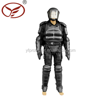full body armor police equipment anti riot suit riot