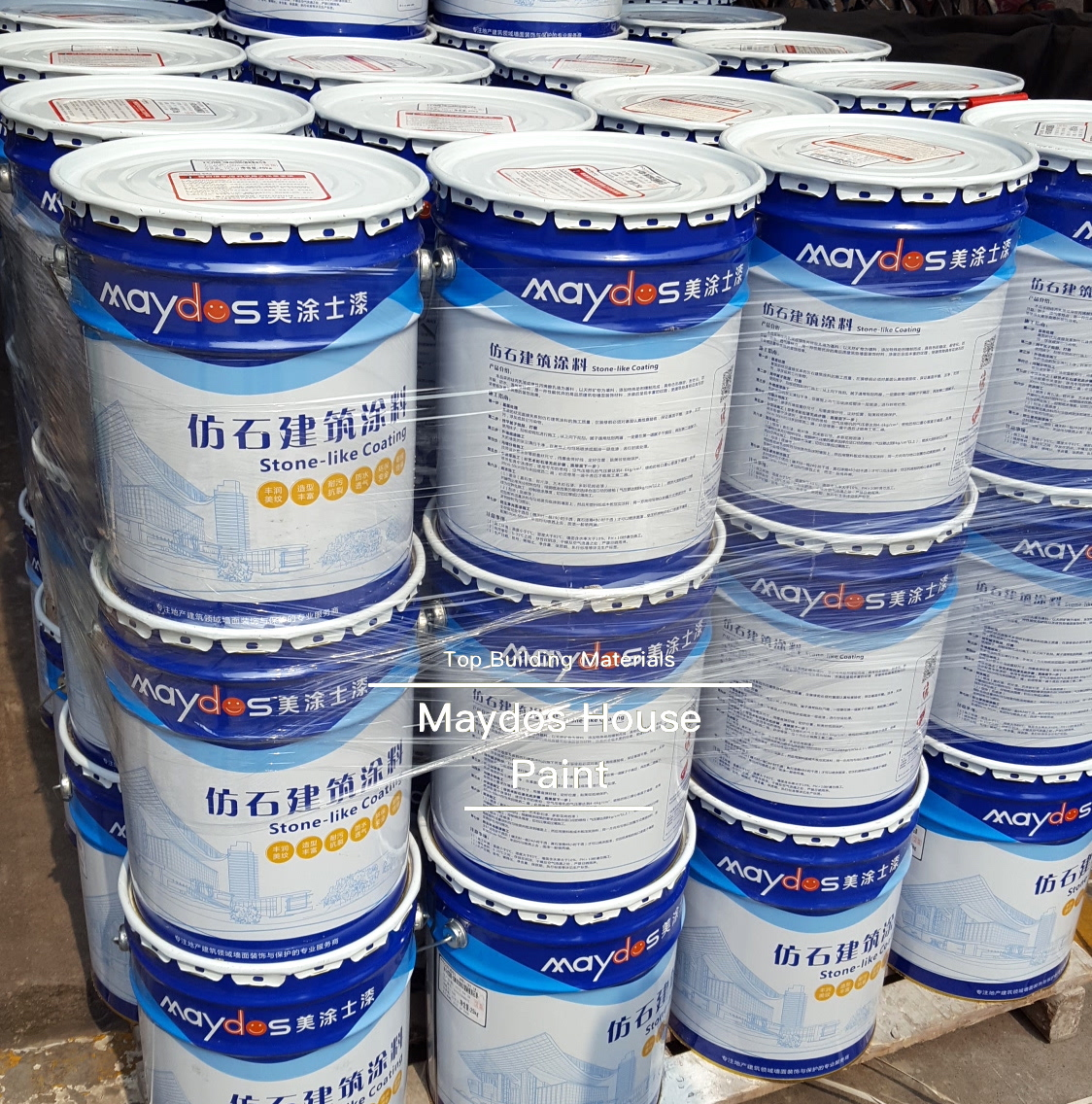 Maydos Liquid Best Price Ethiopia Customized Granite Paint for Exterior