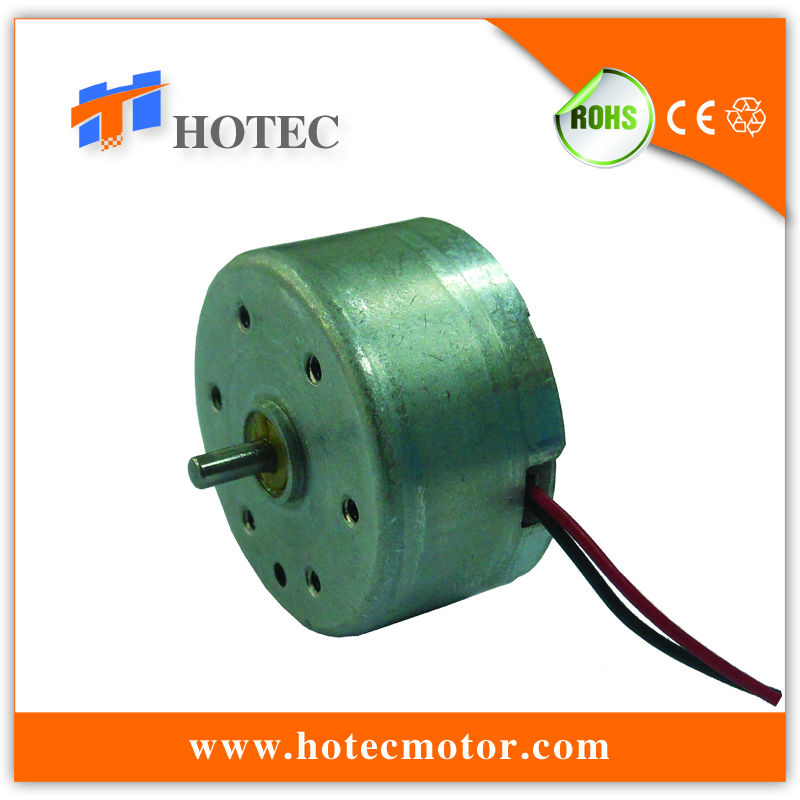 low noise high output 3.6v dc motor