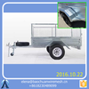 China Maufactory Military Sand Wall Hesco Bastion / 8*5 Tandem Trailer with Cage