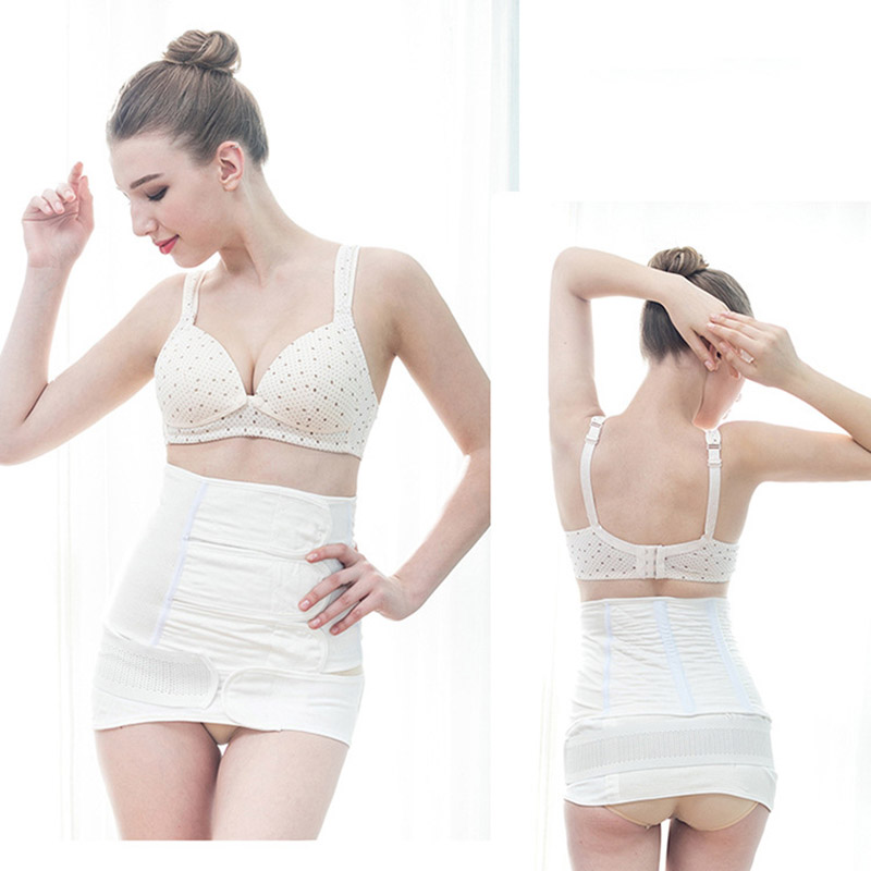 2 in 1 Postpartum Belly Band Pregnancy Belt Maternity Abdominal Recovery Bandage Body Shaper Corset Slim Modeling Girdle