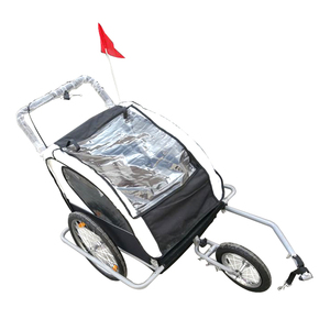 Top Dual Function And Jogger Bike Dog Stroller Rolley Pet Trailer
