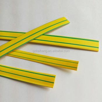 Gelb Grün Striped Farbe Erdungskabel Flammschutzmittel ...