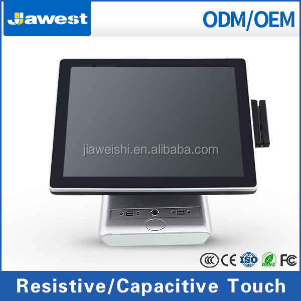 POS Supplier Jawest 15 inch Restaurant Ordering Point of Sales Hardware