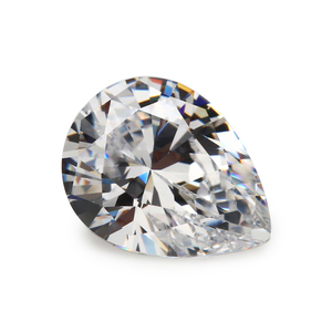 China Moissanite Manufacturer Excellent Color Pear Lab Created Moissanite Loose Stones