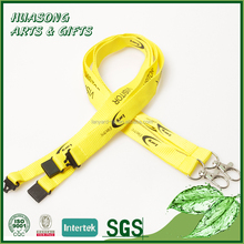 Cheap promotional silkscreen printed polyester neck lanyard for China wholesale