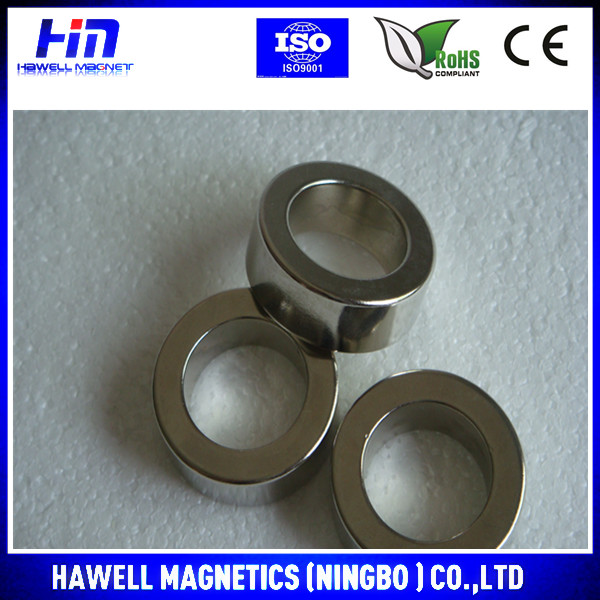 Cheap high quality hot sale NdFeB/neodymium ring magnate