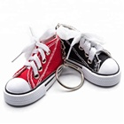 New products 3d canvas heightening shoes keychain