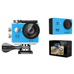 2019 factory promotion 2inch screen mini 1080p full hd sport dv h.264 waterproof 30M sports action camera camcorders