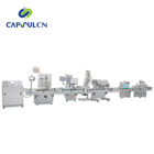 Fully Automatic Capsule Bottle Particle Counting Filling Machine Capsule Bottling Canning Line