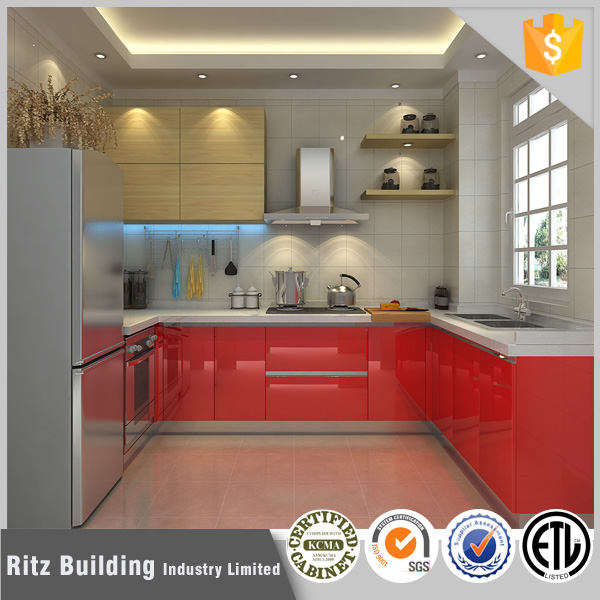 Red Lacquer Kitchen Cabinet Red Lacquer Kitchen Cabinet Suppliers - Lacquer kitchen cabinets